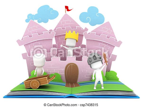 Kingdom Story - csp7438315