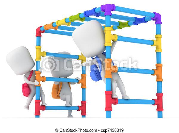 Monkey Bar - csp7438319