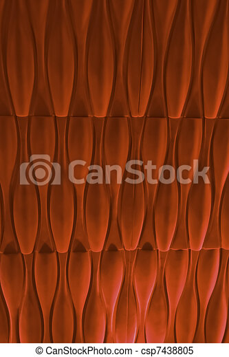This picture shows the texture of red color fabrication. - csp7438805