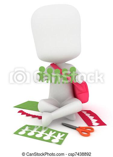 Paper Craft - csp7438892