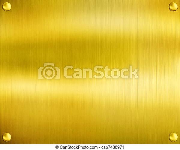 Luxury golden texture. - csp7438971