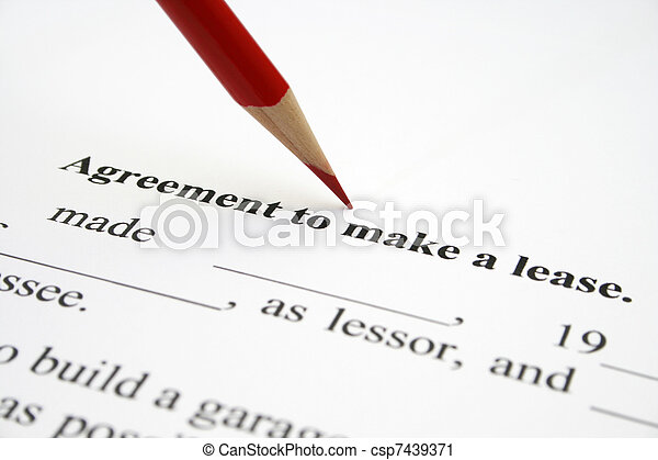 Lease agreement - csp7439371