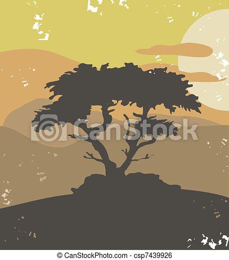 Pine tree - csp7439926
