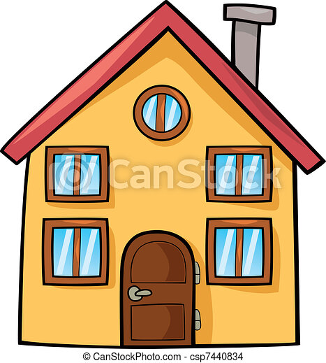 funny house - csp7440834