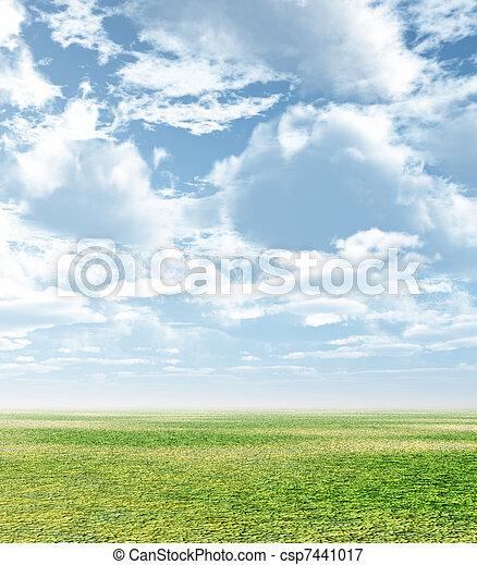 Spring scenery - csp7441017