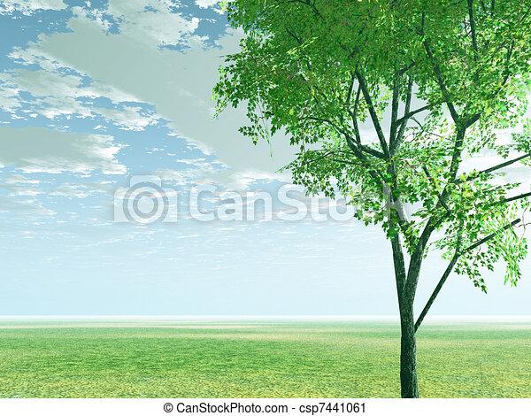 Spring scenery - csp7441061