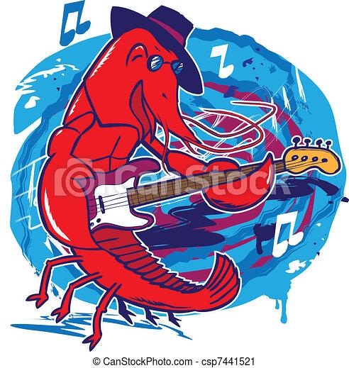Jazz Crawfish - csp7441521