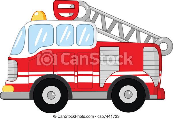 Fire truck - csp7441733