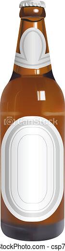beer bottle - csp7442564