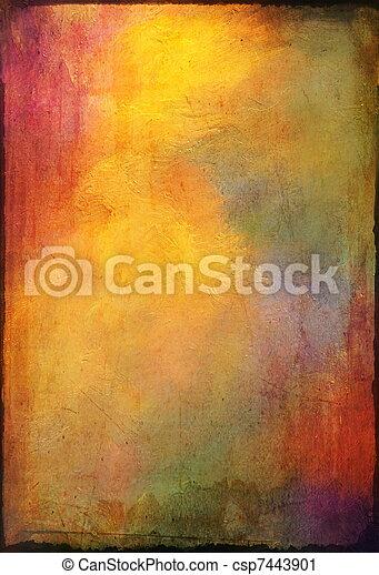 Oil texture - csp7443901