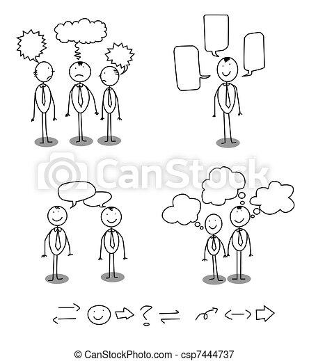 communication man - csp7444737