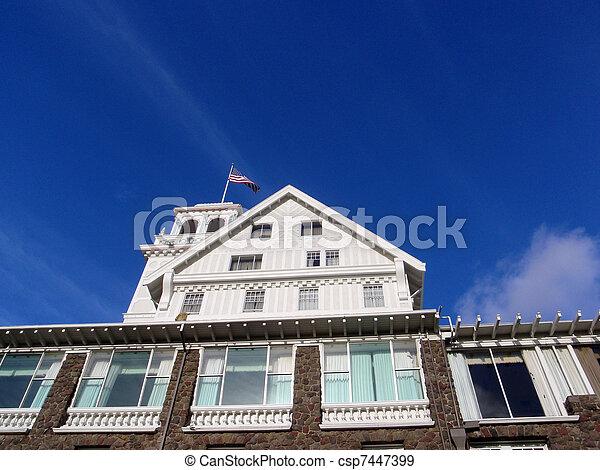 Close-up of Historic Claremont Hotel - csp7447399