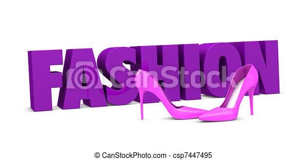 fashion concept - csp7447495