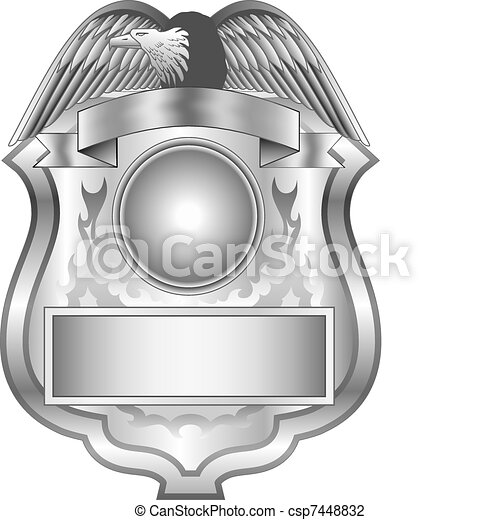 Silver Badge - csp7448832