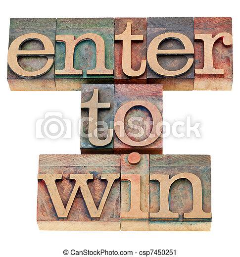 enter to win  - csp7450251