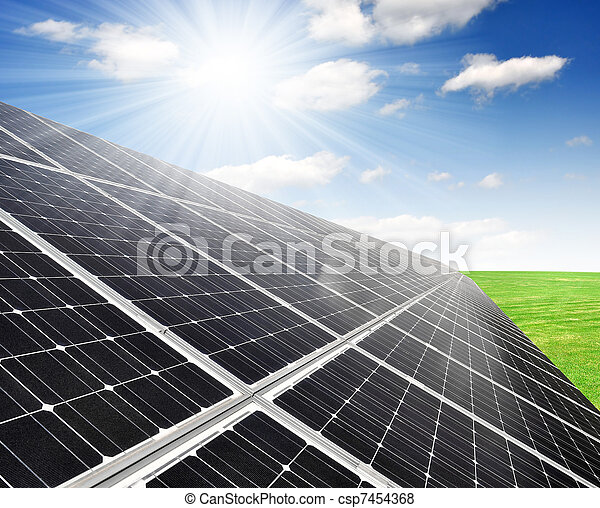 Solar energy panels - csp7454368