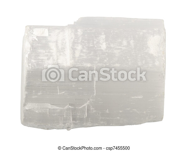 Mineral collection: selenite. - csp7455500