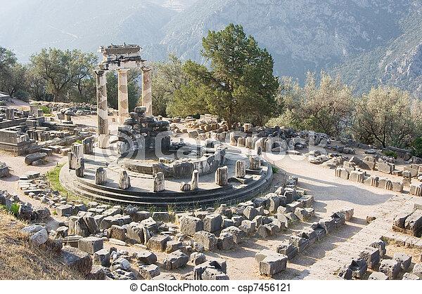 delphi oracle Greece - csp7456121