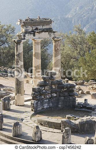 delphi oracle Greece - csp7456242