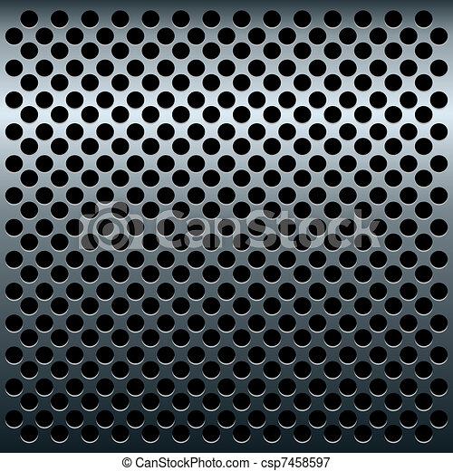 Illustration of titan metalic texture for design - csp7458597