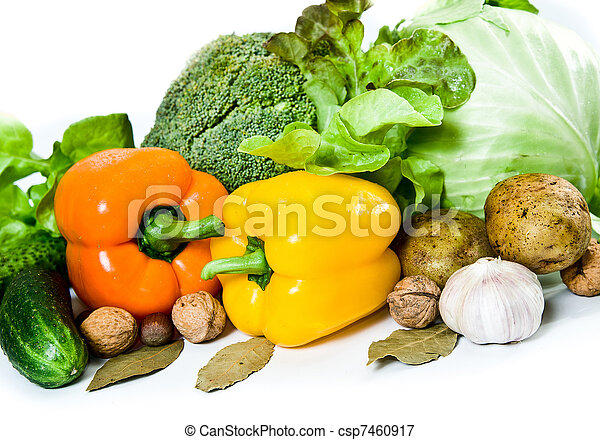 fresh healthy food - csp7460917