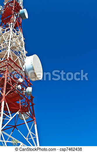 Communications Tower - csp7462438