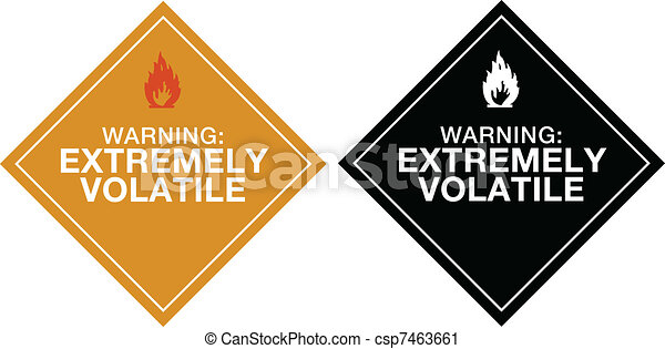 Warning Extremely Volatile - csp7463661