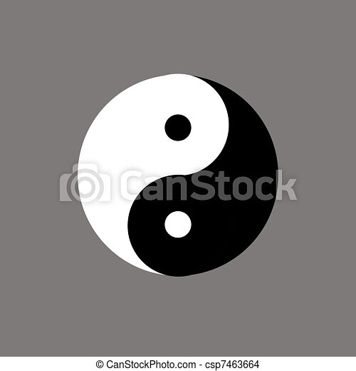How To Draw Yin And Yang Symbol Ecosia