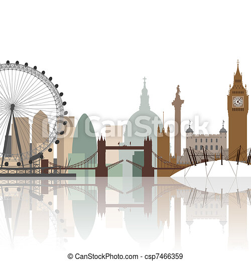 London Cityscape  - csp7466359