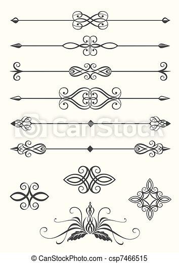Line dividers - csp7466515