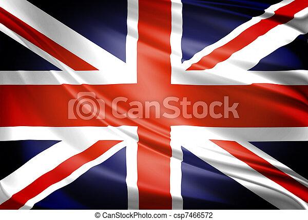 UK Flag - csp7466572