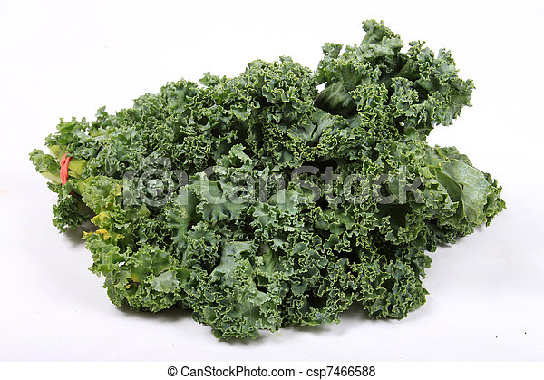 Fresh leafy kale - csp7466588