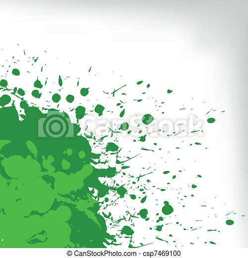 green spots - csp7469100