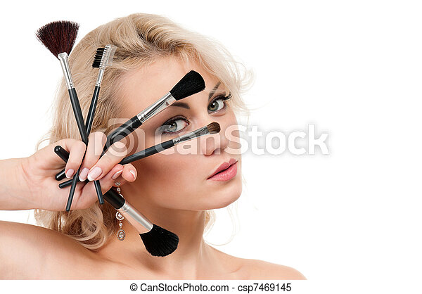 Make-up girl - csp7469145