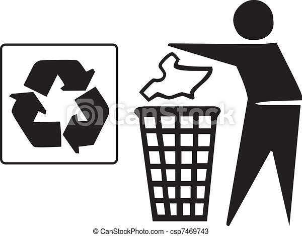recycle icon - csp7469743