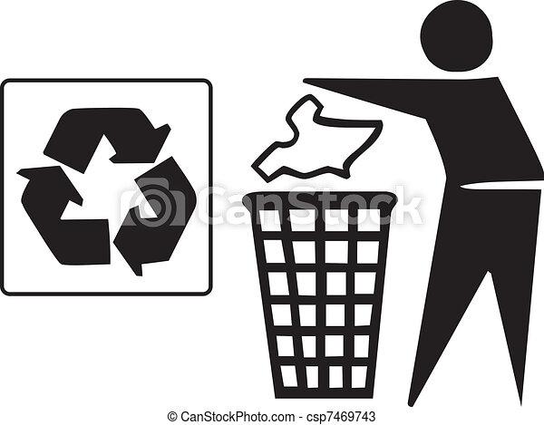 recycle icon - csp7469743
