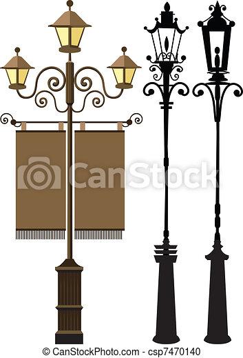 Lamp post - csp7470140