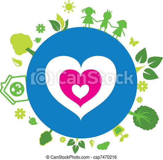 Love our earth - csp7470216