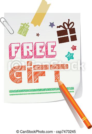 Free gift - csp7470245