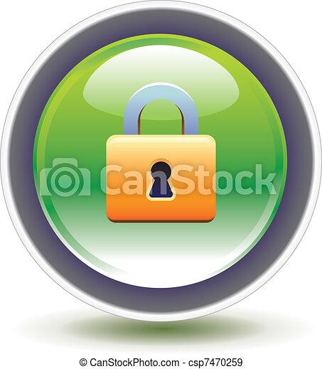 Pad lock - csp7470259