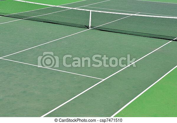 Tennis Court - csp7471510