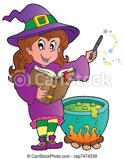 Halloween character image 2 - csp7474339