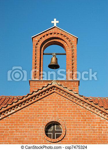 Old orthodox church, Greece - csp7475324