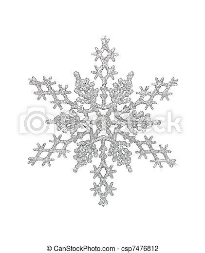Silver Snowflake - csp7476812
