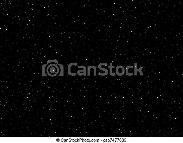 Fantasy Galaxy Field of Stars - csp7477033