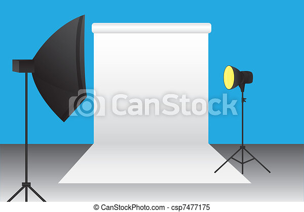 photography studio - csp7477175