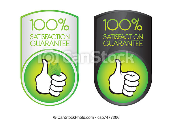 100 satisfaction guarantee - csp7477206