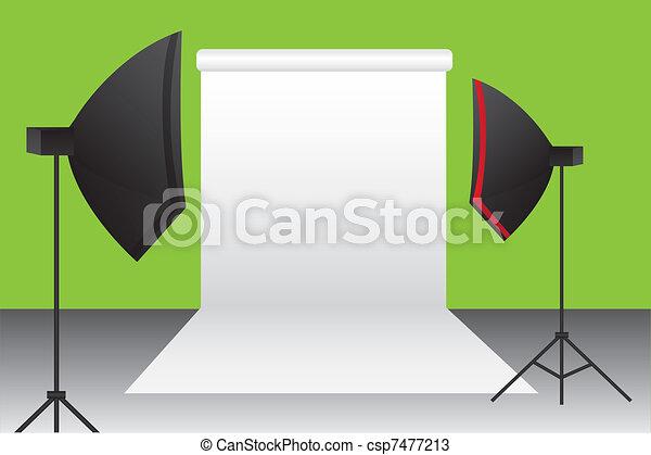 photography studio - csp7477213