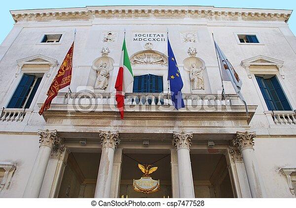 Theater in Venice - csp7477528