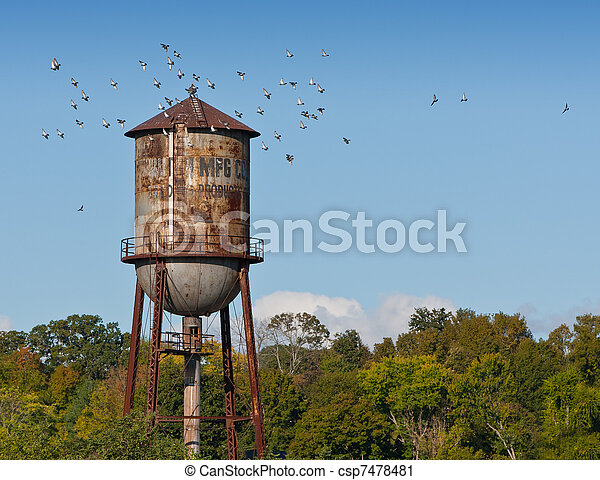 Water Tower - csp7478481